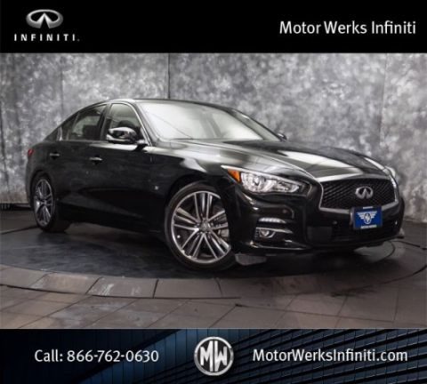 Certified Used Infiniti Q50 AWD, Certified, Deluxe Technology Package With 19 Wheels