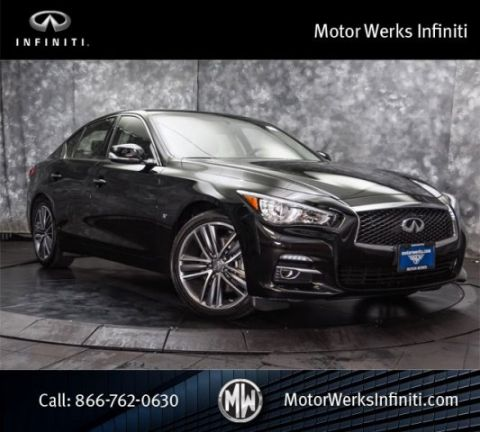 Certified Used Infiniti Q50 AWD, Certified, Premium Package With Navigation 19 Wheels And Leather