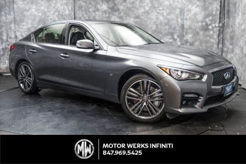Certified Used INFINITI Q50 AWD, Certified, Sport, Premium And Navigation Packages