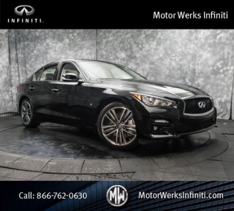 Certified Used Infiniti Q50 AWD, Certified, Sport And Appearance Packages With Navigation