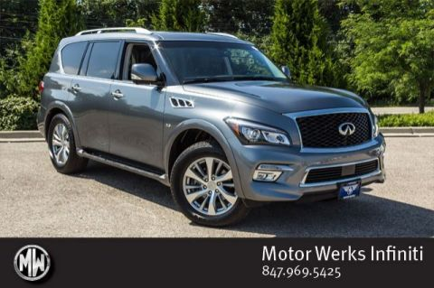 Certified Used Infiniti QX80 AWD, Certified, Premium And Driver Assistance Packages