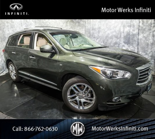 Certified Used Infiniti QX60