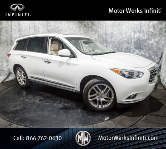 Used Infiniti JX35 AWD, Premium Plus, Theater And Drivers Assistance Package