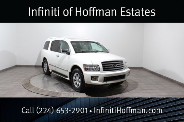 Used Infiniti QX56 with Navigation and DVD System