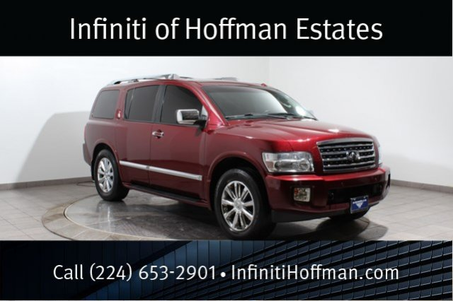 Used Infiniti QX56 with DVD entertainment and Navigation