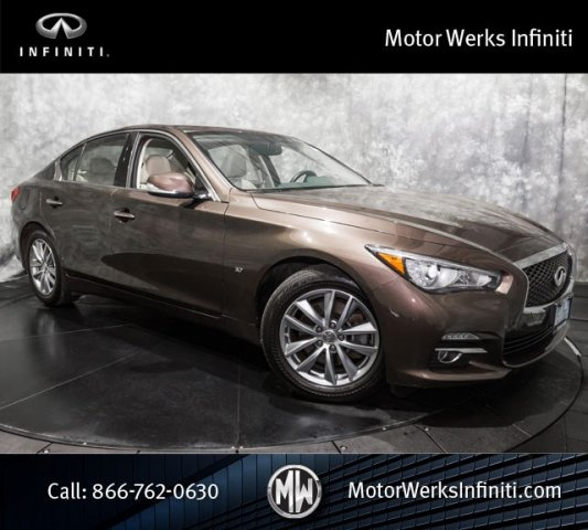 Certified Used Infiniti Q50 Navigation