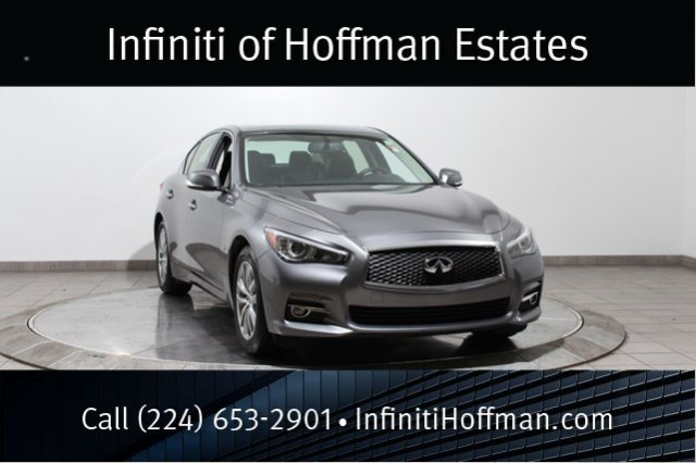 Certified Used Infiniti Q50 Certified AWD with Premium Package and Navigation