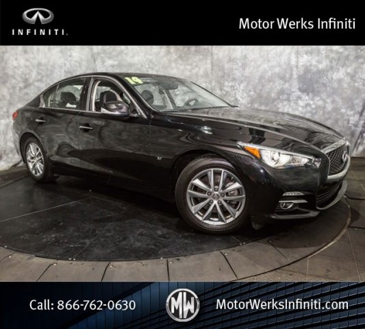 Used Infiniti Q50 AWD Navigation