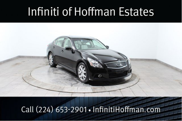 Certified Used Infiniti G37 Sedan x AWD with Sport, Navigation and Premium Packages