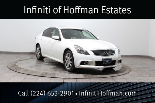 Certified Used Infiniti G37 Sedan x with Sport, Premium and Navigation Packages