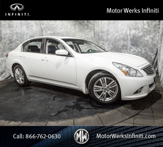 Used Infiniti G37 Sedan AWD NAV Premium Package