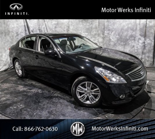 Used Infiniti G37 Sedan AWD, Premium Package With Bose Sound System