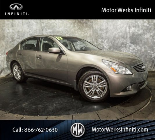 Used Infiniti G37 Sedan AWD, Certified, Navigation With Maple Wood Trim