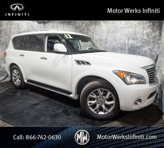 Used Infiniti QX56 8-passenger NAV Theater Package