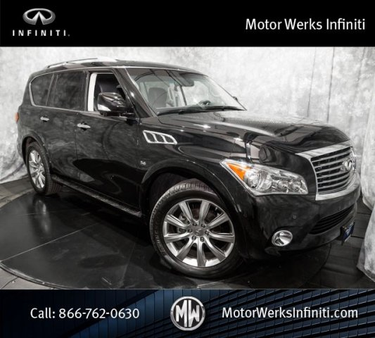 Certified Used Infiniti QX80