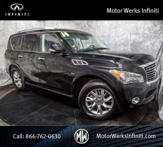 Used Infiniti QX80 AWD NAV Theater Package