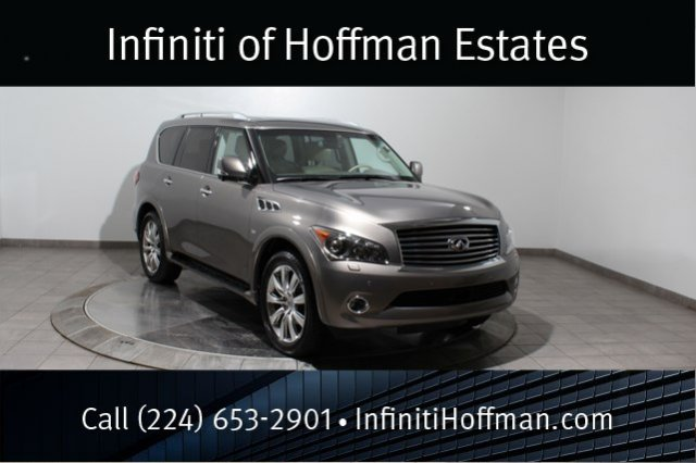 Used Infiniti QX80 AWD, 7-Passanger, Deluxe Touring, Technology And Theater Packages