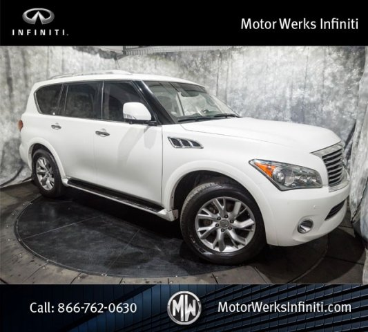 Used Infiniti QX56 NAV Theater Package