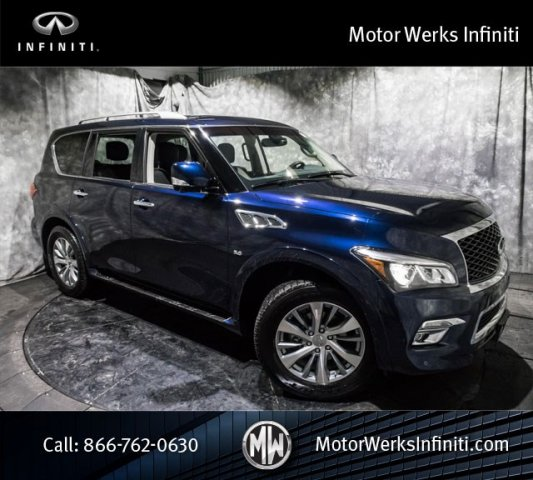 Certified Used Infiniti QX80 AWD, Certified, Premium Package