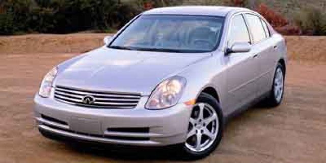 Used Infiniti G35 Sedan with Leather