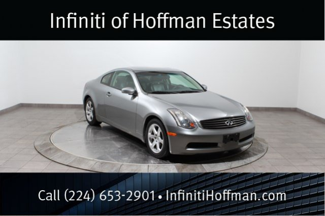 Used Infiniti G35 Coupe w/Leather